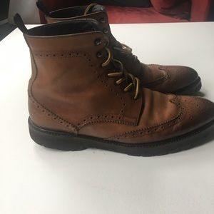 To Boot Shoes - To Boots Adam Derick AUCKLAND BURNISHED BROWN